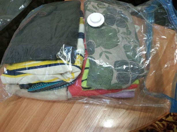 Женская одежда ,пакет с вещами