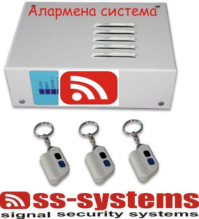 Домашна аларма с дистанционно управление