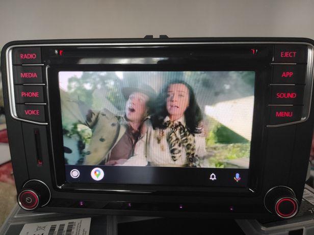 Radio Mib2 pq Vw Passat B6 B7 Golf 5 6 Tiguan Touran Jetta navigatie