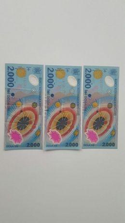 Bancnota de colectie 2000 lei din 1999