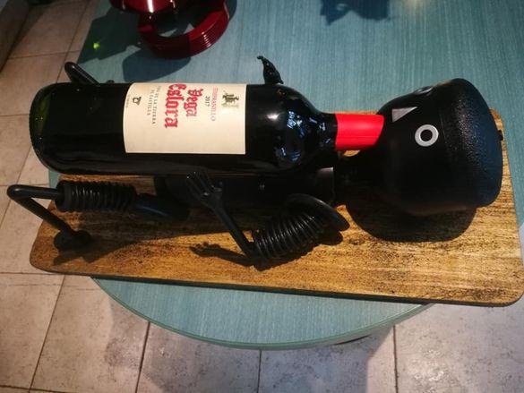 Арт стойка за вино