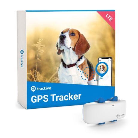 NOUL Tracker GPS Tractive 4 pentru câini - zgarda GPS