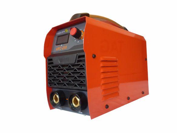 Електрожен ТИГТАГ ARC200 Ампера и фотосоларна маска