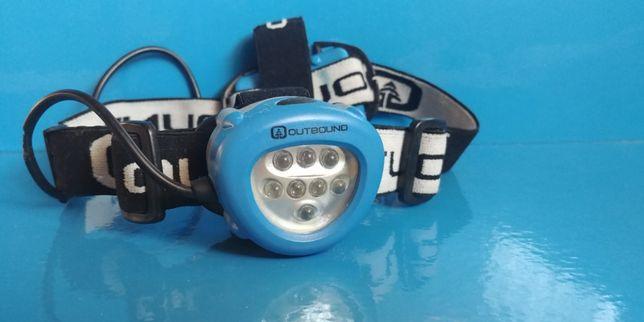 lanterna frontala OUTBOUND ADVENTURER ,8 LED, 3 moduri, 3 bat, Canada