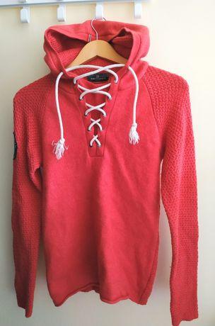 Мерино Пуловер Amundesn merino wool, вълна анорак