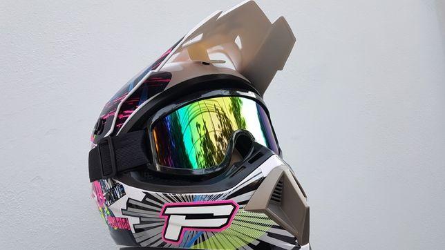 Casca motocross-atv-enduro-bike-downhill-trotinets