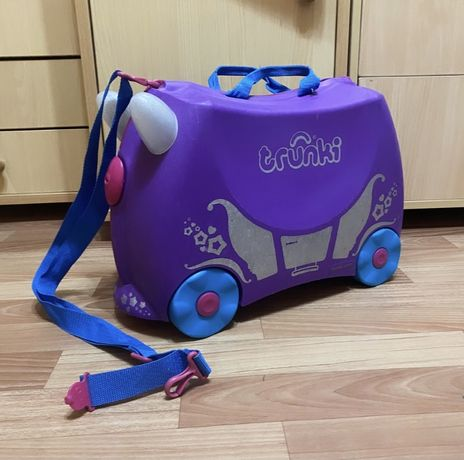 Детский чемодан каталка на колесах Trunki оригинал