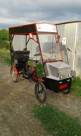 Bicicletă electrică 2 locuri