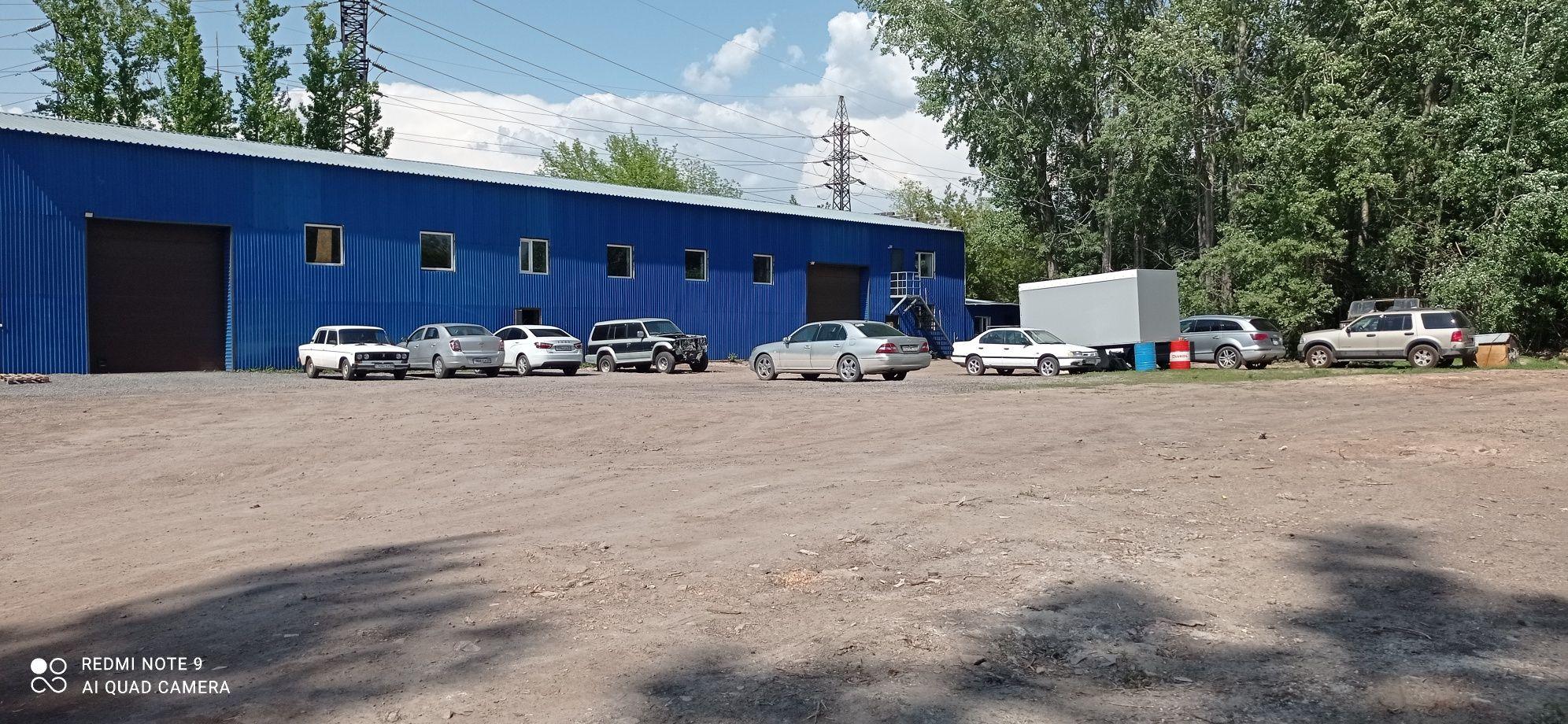 База здание помещение автосервис боксы земля склад