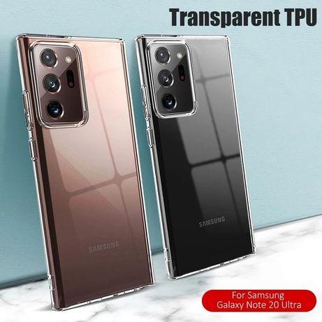 Плътен прозрачен мек кейс гръб Samsung Galaxy Note 20 Ultra / Note 20
