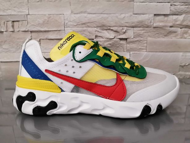 Adidasi Barbati Nike React Element 55 Multicolor!