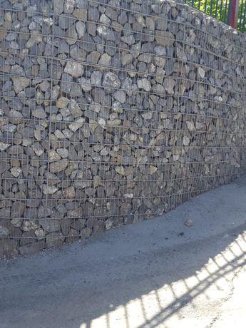 Габионы, Подпорные стены из камня, Пергон, Заборы из камня!