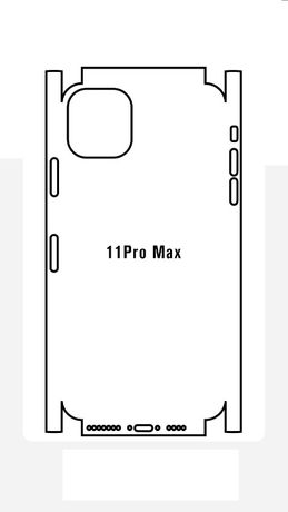 Folie silicon Full Back Cover iPhone 11 Pro Max,XS, XS Max, 11,XR, X