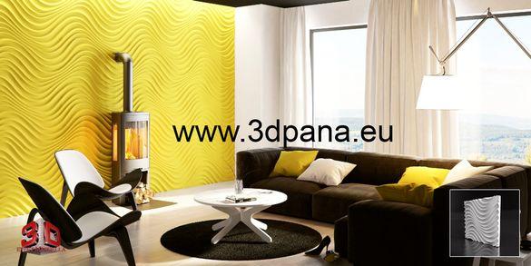 3D ПАНЕЛИ, гипсови облицовки за стени, облицовъчен камък, пана, 0023