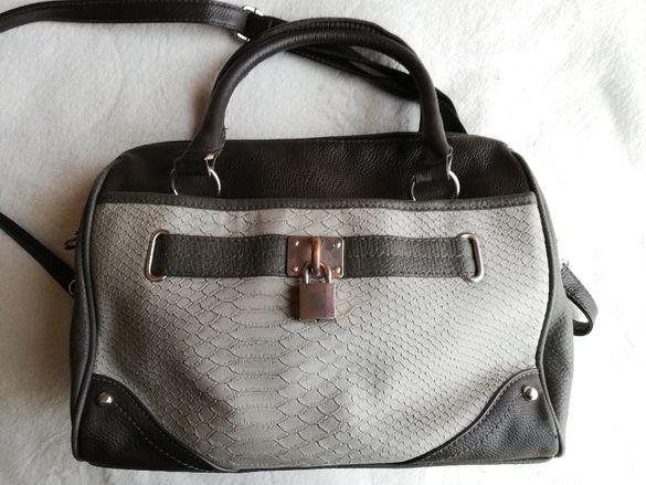 Кафява чанта с катинар