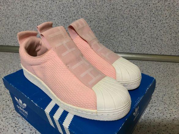 Оригинални *** Adidas Originals Superstar Bw35 Slip-on W Ice Pink
