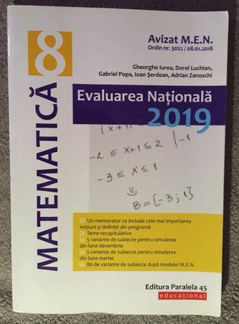 Matematica, Evaluare Nationala 2019, Clasa a VIII-a, deGheorghe Iurea