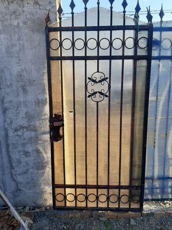 Porți  din fie forjat