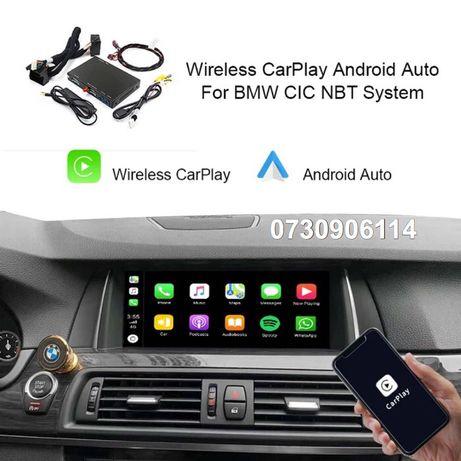 Interfata Carplay Android Wireless Bmw Nbt,Cic F20,F22,F23,F30,F01,F07