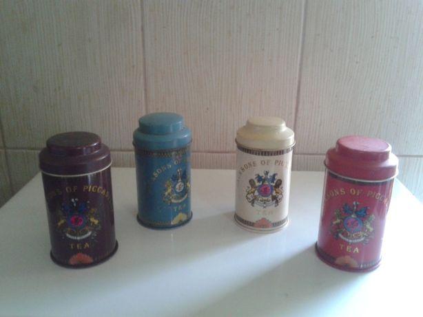 Lot cutii vechi de ceai