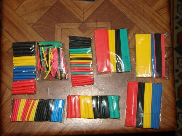 Полиолефиновые термоусадочные трубки (1-14 мм) термоусадка, 328 штук