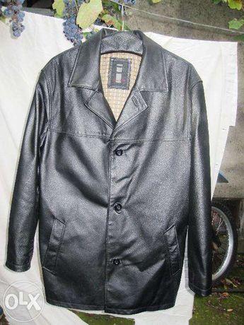 Geaca jacheta sacou din piele neagra nr 48- 50