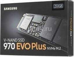 Жесткий диск SSD Samsung 970 EVO Plus NVMe M.2 2Tb