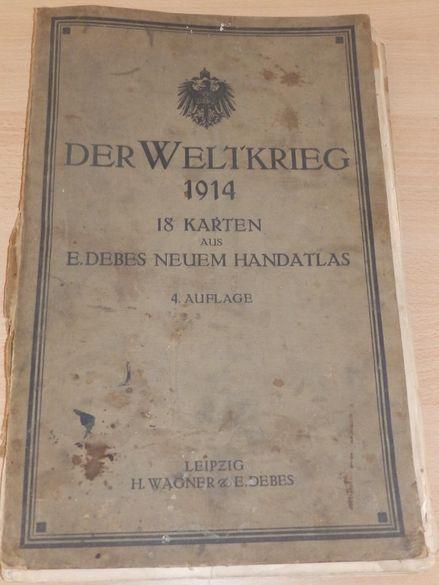 стари немски и френски карти, атлас ПСВ