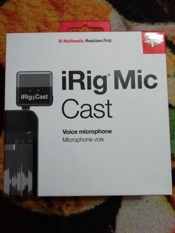 Irig mic caste microphone voix