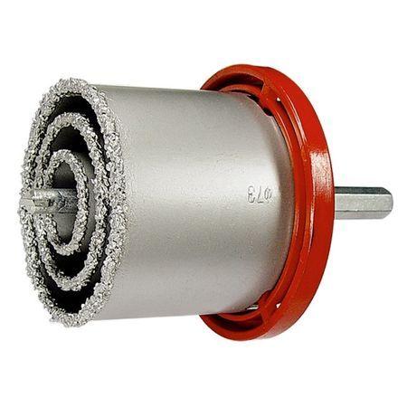 Комплект боркорони за керамични плочки, D 33-53-67-73 mm, 6-стенна