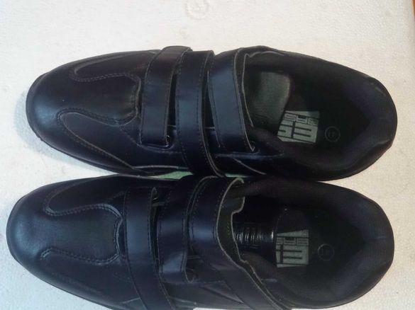 """Мъжки обувки  """"ES BASIC"""" -нови №41 черни"""