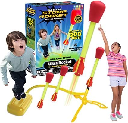 Original Stomp Rocket U.S.A. игрушка ракета