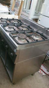 Газова печка 6 котлона