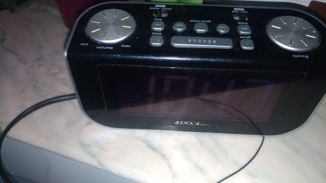 Radiouri cu ceas si proiector ora Superior, Audiola