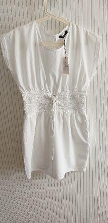 нова бяла рокля Размер Л