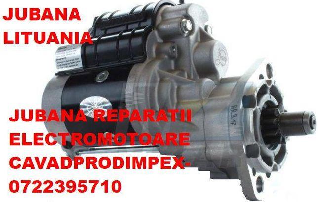 Electromotoare JUBANA pentru tractoare ,reparatii si vanzari 12v-24v
