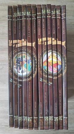 Povesti  EDITIE DE COLECTIE , noua, cartonata (12 volume, cu CD)+bonus