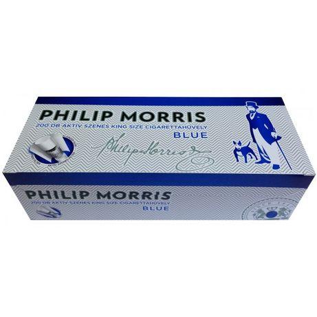 Tuburi tigari Philip Morris Multifilter pentru injectat tutun
