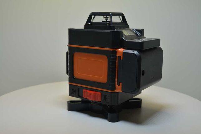 New Model Nou  Nivela Fascicul Ldvian 4d 16 Linii Laser Verde