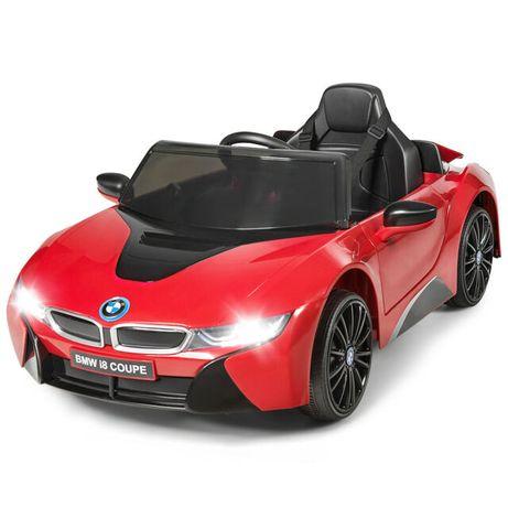 Masinuta electrica pentru copii BMW i8 12V Coupe STANDARD #Rosu
