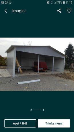Vând hala metalică structura 18x40 asiguram momtaj