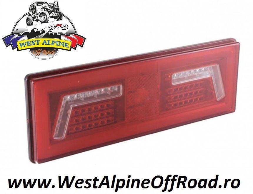 Lampa stop spate 375x130, 6 functii, 12-24V, Neon Glow L1828 /1829