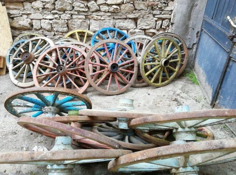 Колелета колела каруца гр. Плевен - image 1