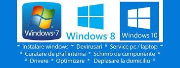 Instalari Windows , reparatii calculatoare , service laptopuri routere