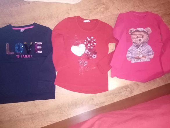 Есенно зимни блузки за 5-6 годишни