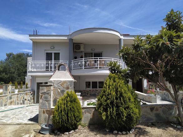 Вила Валантис, 3 спални, 8 човека,150м от плажа, Керамоти, Гърция