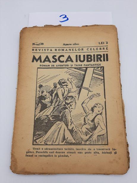 """De colectie 4 Reviste """"Masca Iubirii """"1931 extrem de rare.Interbelice"""