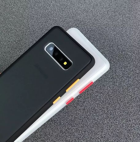 Samsung S10 / Plus Husa Hybrid din Silicon Spate Plastic Mat