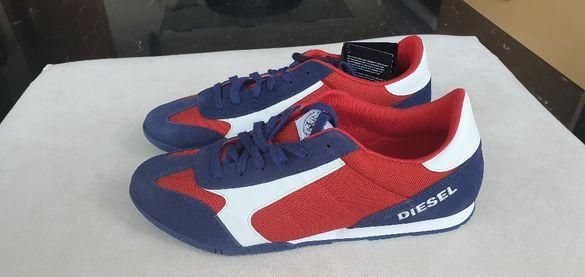DIESEL нови ОРИГИНАЛНИ обувки от естествена кожа EU номер 45, US 12