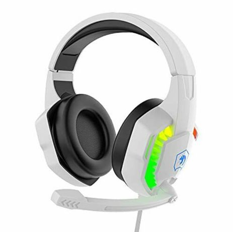 Casti gaming RGB, sunet surround stereo cu 5,1 canale, noi